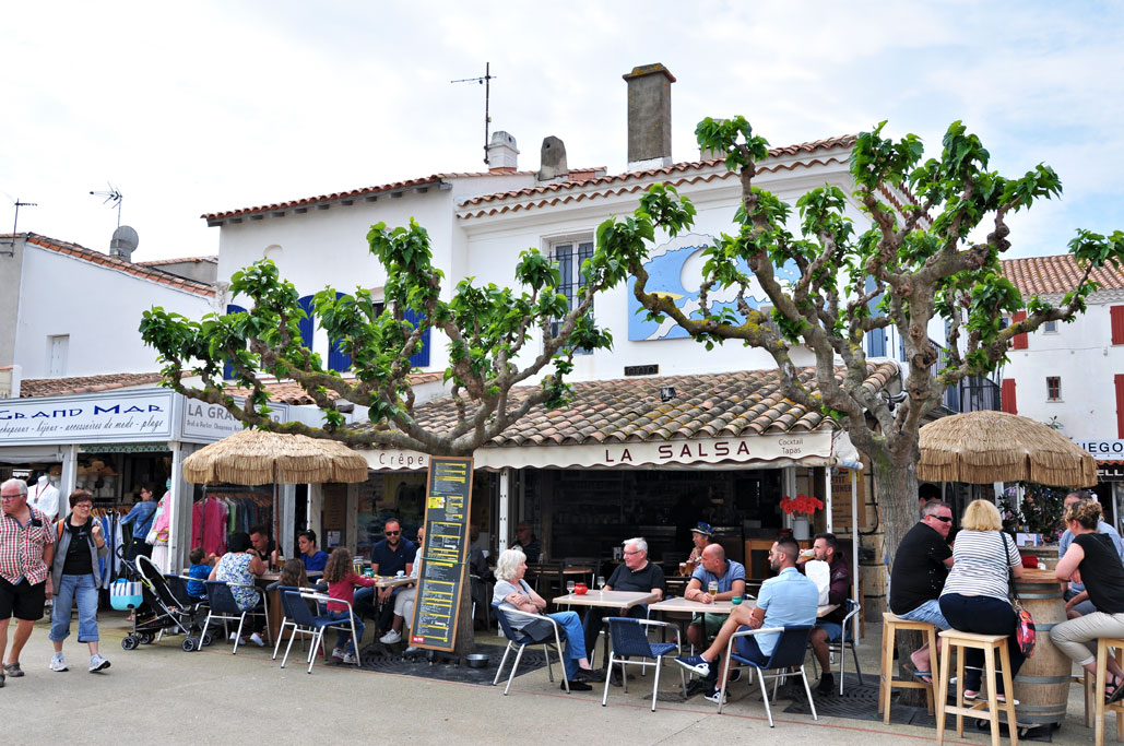 Fortausrestauranter i Saintes-Maries-de-la-Mer